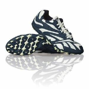 MENS REEBOK GLOBAL DISTANCE MILE 1600 3200 5k RUNNING TRACK SPIKES SHOES SIZE 15