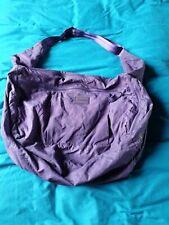 Large Reebok Purple Slouch Sports Gym Kit Bag