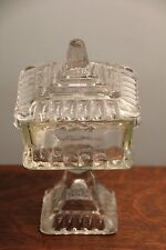 Jeannette 'Wedding' Bowl Candy Dish with Lid