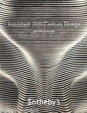 Catalogue Sotheby's Important 20th Century Design Tiffany Nakashima 14 June 2008