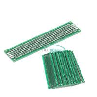 20PCS 20x80mm Prototype PCB Double Side Bread board Tinned Universal 2x8cm FR4