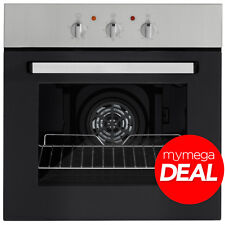 MyAppliances REF28759 60cm Built-in Single Electric Fan Oven Stainless Steel