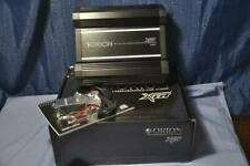 Orion XTR5001 Mono Subwoofer Amplifier 500 Watts RMS at 1 Ω Class D remote gain