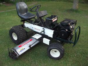 "National triplex ride on lawn mower 84"""