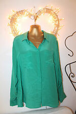 Hip Length Silk Party Tops & Shirts Collared for Women