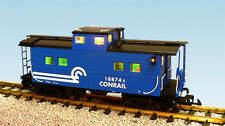 USA Trains 12159 G Scale Center Cupola Caboose Conrail blue