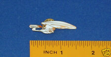 Star Trek Next Generation USS Enterprise 1701D Cutout Pin Badge STPIN1701