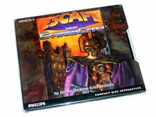 NUOVO SIGILLATO ESCAPE FROM cybercity Phillips CDI CD-I CD ROM GAME BOXED ENG USA RARA