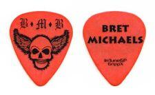 Bret Michaels Band Bret Michaels Orange Guitar Pick - 2011 Solo Tour Poison