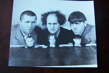 """THE THREE STOOGES """"THE KINGS OF COMEDY"""" 8X10 PHOTO"""