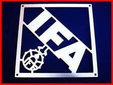 IFA VEB ZT Fortschritt Schild Typenschild Emblem Alu NEU