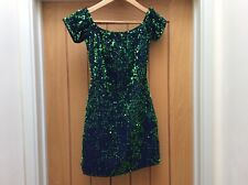 Motel Rocks Green Sequin Dress - Small BNWT