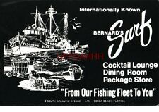 """From Our Fishing Fleet To You"" Bernard'S Surf, Cocoa Beach, Fl."
