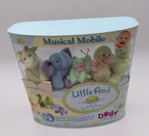Little Pond Dolly  Frog Duck  Musical Baby Crib Mobile