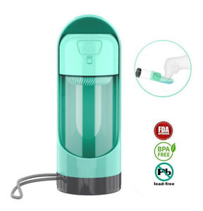 Outdoor Portable Pet Water Bottle with filter Drinking Bowls For Large Small Dog