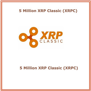 5 Million (5,000,000) XRP-Classic (XRPC) CRYPTO MINING-CONTRACT Crypto Currency