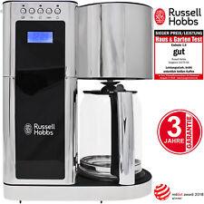 Russell Hobbs Filter Kaffeemaschine Edelstahl Elegance Digital Kaffeeautomat NEU