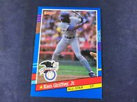 U3-14 BASEBALL CARD - KEN GRIFFEY JR MARINERS - 1991 DONRUSS - CARD #49