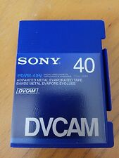 SONY PDVM-40N Mini DV CAM Tape