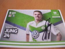Autogrammkarte, S. Jung, VfL Wolfsburg, Eintracht Frankfurt, SGE, EM, WM, AK .