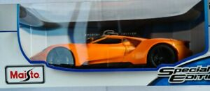 Maisto 1:18 2017 Ford GT Diecast Special Edition