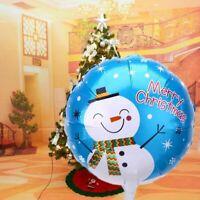 nouvelle l'hélium le père noël décor d'anniversaire noël ballon en aluminium