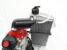 Rotax overflow bottle and gearbox breather kit - Black - crg tonykart otk birel