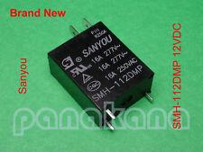 Sanyou SMH-112DMP 12VDC SPST Relay – Brand New