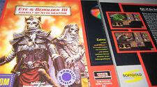 Eye of the Beholder III PC CD Rarität Sammlerstück BIG BOX deutsch m. Handbuch