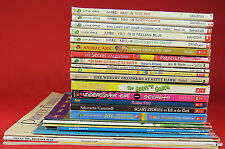 Lot of 25 Children Scholastic Books, Wide Variety, 5 are Amber Brown, All are PB