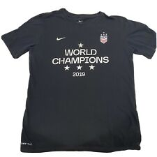 Nike USA Womens World Cup Champions 2019 France Size Small Women T Shirt Soccer