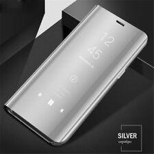 For Xiaomi Redmi Note 8T 8 7 6 Pro 5A 4X Smart Mirror Leather Stand Case Cover