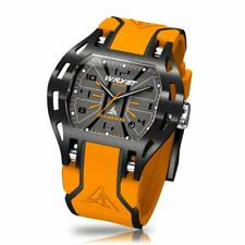 Orange Sports Watch Limited Edition Wryst Elements PH5 Swiss Made With Black DLC