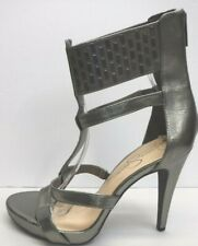 Jessica Simpson Size 8.5 Metallic Sandals Heels New Womens Shoes