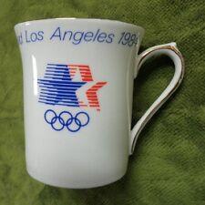 #BB7.  1984 LOS ANGELES OLYMPICS SOUVENIR CHINA MUG