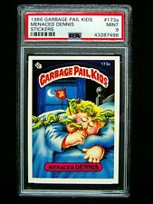 GARBAGE PAIL KIDS 1986 5th Series #173a Menaced Dennis OS5 Graded PSA 9 MINT Low