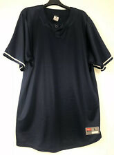 Nike Team Mens Dri Fit Button Up Size Lg