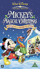 Mickey's Magical Christmas - Snowed In At The House Of Mouse (VHS, 2005)