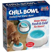 Chill Bowl Chilled Pet Water Bowl Animals Cool Heatwave Summer Winter