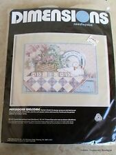 "Dimensions Inc ""Patchwork Welcome"" Needlepoint Kit"