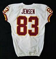 #83 Marcel Jensen of Washington Redskins NFL Game Issued Lightly Worn Jersey