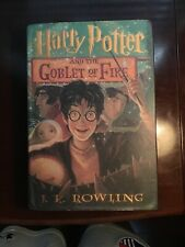 Used Harry Potter and the Goblet of Fire Hardcover w/ Dust Jacket 1st Ed.