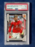 FAPL ROOKIE Cristiano Ronaldo #154 Topps Premier Stars 2004-05 Card **RARE**PSA!