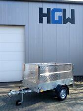 Gitteraufsatz - Laubgitter Bordwanderhöhung f. Stema Pkw-Anhänger - 201x108x66cm