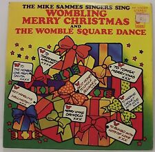 "WOMBLING MERRY CHRISTMAS : MIKE SAMMES SINGERS 7"" Vinyl Single Picture Sleeve EX"