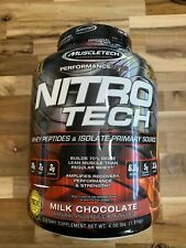 NitroTech, Whey Peptides & Isolate Primary Source, Milk Chocolate, 4.00 lbs