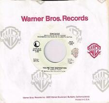 "CHICAGO - YOU'RE THE INSPIRATION / HARD HABIT TO BREAK - 7"" 45 VINYL RECORD 1984"