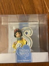 New ListingPrecious Moments - Disney Alphabet S- Snow White - New