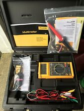 Brand New Fluke 27/FM Multimeter With Probe, Attachments, And Hard Shell Case