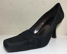Circa Comfort 365 JOAN & DAVID Shoes Heels Pumps Black Suede Stitched Size 7M